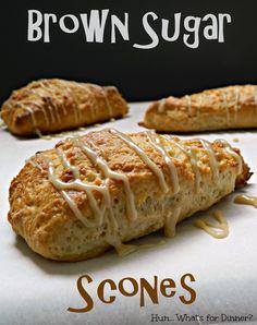 Hun... What's for Dinner?: Brown Sugar Scones #SecretRecipeClub