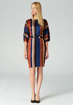 HALLHUBER Kimono-Kleid mit Längsstreifen in multicolor im Online Shop von Baur Versand