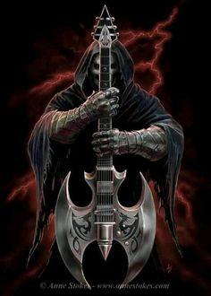 Anne Stokes fantasy art death metal music