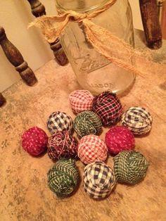 Primitive rag balls