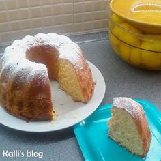 Lemon Cake http://www.kallisblog.gr/2017/03/blog-post_26.html