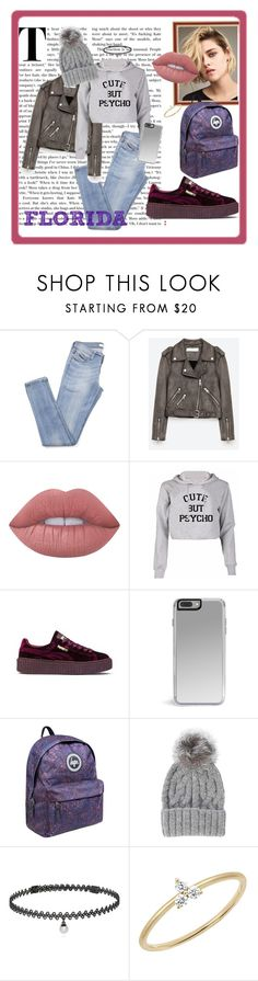 """FLORIDA"" by floridanuha ❤ liked on Polyvore featuring Lime Crime, Puma, Eugenia Kim, BERRICLE and EF Collection"
