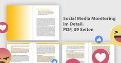 Download: Social Media Monitoring und Online Reputation Management auf 39 Seiten im Detail
