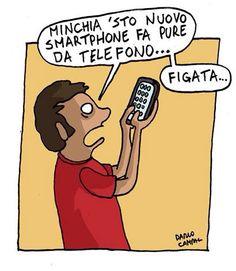 #Smartphone evoluti #umorismo