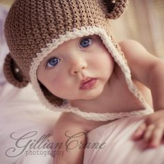 Can't handle the cuteness...! #cute #adorable #baby #boy #knits #knit #hat #infant #sweet #innocence