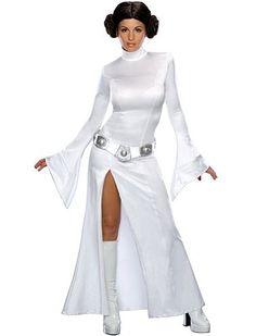 Transform into a sci-fi icon in this Star Wars Princess Leia Halloween costume.