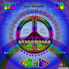 Peace and Love Ouija Board