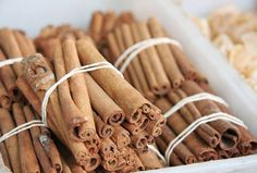 cinnamon for diabetes, cholesterol, tooth ache etc.........