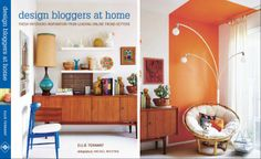 Saana ja Olli featured in new UK book Design Bloggers at Home.