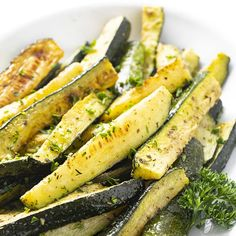 How To Roast Zucchini: Oven Roasted Zucchini Recipe | Wholesome Yum Roasted Zucchini Rounds, Roasted Zucchini And Squash, Roasted Zucchini Recipes, Zucchini In The Oven, Low Carb Zucchini Recipes, Roast Zucchini, Healthy Zucchini, Veggie Recipes, Low Carb Recipes