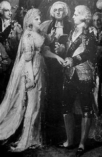Marriage of Princess Caroline of Brunswick and George Prince of Wales, later George IV