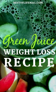 This green juice recipe to lose weight will help you flush your body and lose th. - This green juice recipe to lose weight will help you flush your body and lose the bloated feeling. Weight Loss Meals, Weight Loss Drinks, Green Drink Recipes, Detox Juice Recipes, Juice Cleanse, Cleanse Recipes, Juicer Recipes, Smoothie Recipes, Juice Diet