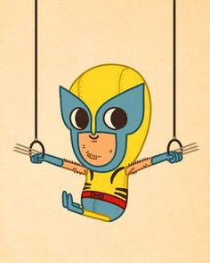 Mike Mitchell's kid Wolverine