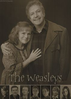Everyone keeps talking about wanting love like James/Snape and Lily....... I want love like the Weasleys