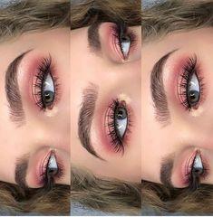 Eye Makeup Tips.Smokey Eye Makeup Tips - For a Catchy and Impressive Look Pink Makeup, Makeup Art, Beauty Makeup, Rose Gold Makeup, 80s Makeup, Witch Makeup, Black Makeup, Clown Makeup, Black Eyeliner
