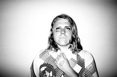 B&W hard contrast, straight-on Ty Segall | Features | Pitchfork