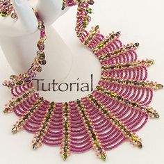 Spider's Kiss Necklace Tutorial - Large Photo