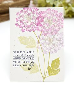 Beautiful Life Card by Ashley Cannon Newell for Papertrey Ink (July 2013)