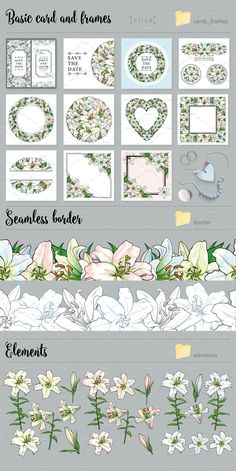 Lily, Bouquet and Wedding Design - Illustrations - 7