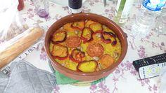 Cómo preparar Arroz al Horno Vegano, Arroces Vegetarianos y Veganos. Ingredientes: Tomate , Ajo , Pimiento rojo , Garbanzo , Pimentón , Pimienta, Sal , ...