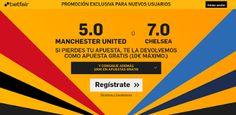 el forero jrvm y todos los bonos de deportes: betfair Manchester United o Chelsea super cuota 5 ...