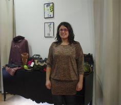 Mercedes Rapaza Ela Diz, dress by Aguamarina Paris