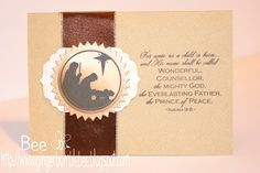 Christian Scripture Christmas Card PTI