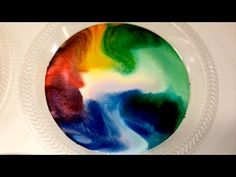 This will blow your children's and your mind!! It's so simple..::Milk, Dish Soap, and Food Coloring Experiment!!