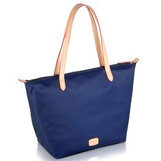 Radley Pocket Essentials Large Zip-Top Tote Bag, Navy Online at johnlewis.com