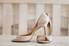 Browse gorgeous wedding photos from real Zola couples, and find ideas, venues, vendors, and more for your special day. Blush Pink Weddings, Gray Weddings, Wedding Blush, Bride Shoes, Prom Shoes, Cheap Shoes Online, Georgia Wedding, Wedding Heels, Vernon