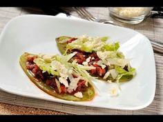 Huaraches de nopal con tinga de jamaica al estilo de Sonia Ortiz por Cocina al natural