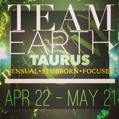 Team Earth Taurus
