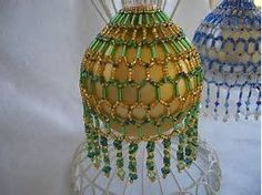 Image result for Gold Seed Bead Ornament Covers