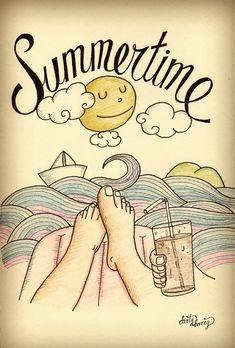 "Moleskine6 - Dirty Harry ilustracion ""verano"""