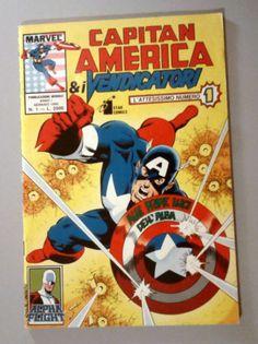 Capitan America e i Vendicatori - Ed. Star Comics - Dal n°1 al n°12 Buono/Ottimo
