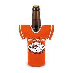 Denver Broncos 2013 AFC Conference Champions Bottle Jersey Cooler