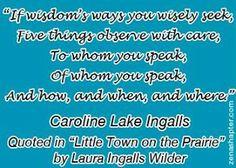 Photo: If wisdom's ways you wisely seek...