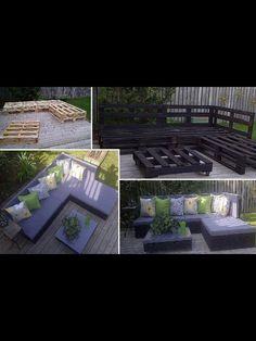 DIY outdoor furniture