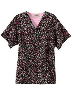 """Tafford """"Ever After"""" scrub top, $17.99"""