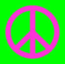 SIMBOLO: Paz SIGNIFICADO: junto con el símbolo de la paloma con la rama de olivo en el pico, simbolizan la paz.