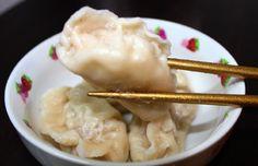 中国人シェフ直伝の皮から作る水餃子がめちゃ簡単でめちゃウマッ☆ シェフ「家庭料理なんだから難しいわけがない」