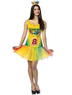 Crayola Crayon Box Dress - Angels Fancy Dress Costumes