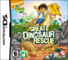 Boxshot: Go Diego Go!: Great Dinosaur Rescue by Take 2 Interactive