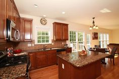 We love the kitchen in our #Rolesville listing!