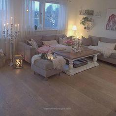 Wohnzimmer in Grau, Rosa und Pink einrichten.   Wohnen   Pinterest
