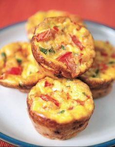 Quick to-go Healthy Breakfast Recipe: Mini Omelet Muffins