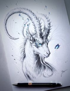 Capricorn by JoJoesArt.deviantart.com on @DeviantArt