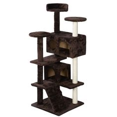 52' Cat Tree Tower Condo Furniture Scratch Post Kitty Pet House Play (Brown) *** Visit the image link more details. (This is an affiliate link and I receive a commission for the sales)