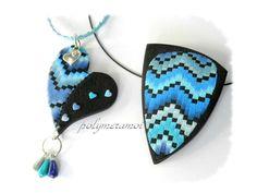 le petit détail qui me fait adorer: les petits coeurs bleus sur le côté du coeur
