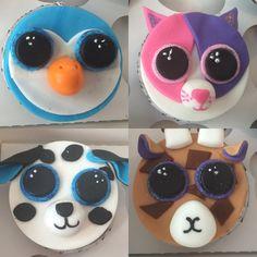 Beanie Boo Cupcakes